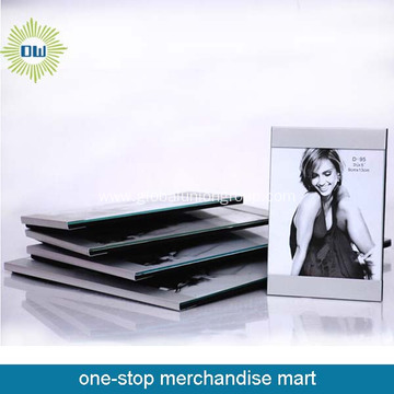 Newest clear good quality aluminum photo frame